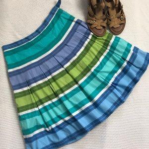Talbots petite size 6 box pleated skirt
